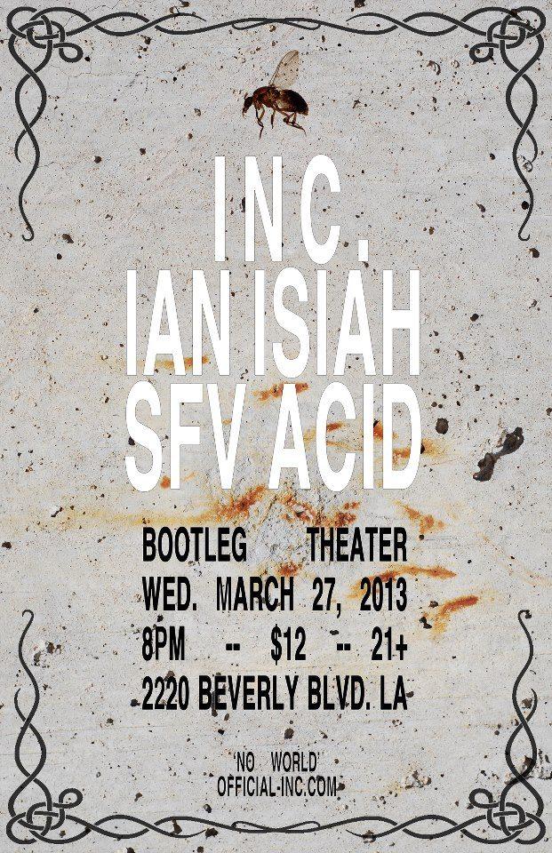 INC at Bootleg