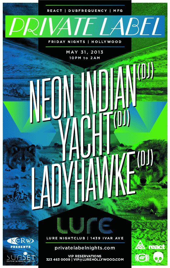 lure neon indian