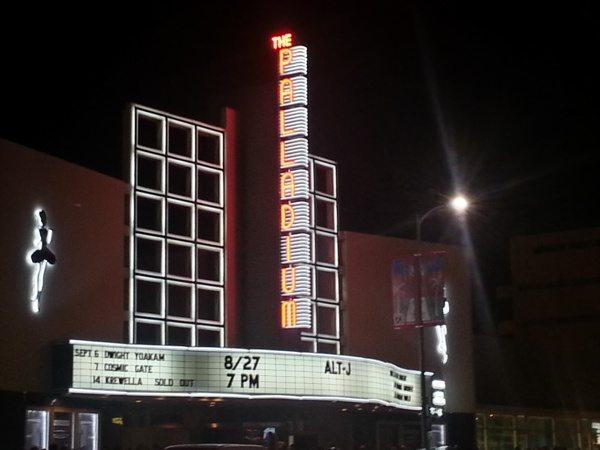 Alt-J Paladium Los Angeles