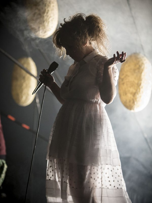 Purity Ring at The fonda August 27 2013 by Russ Ramos