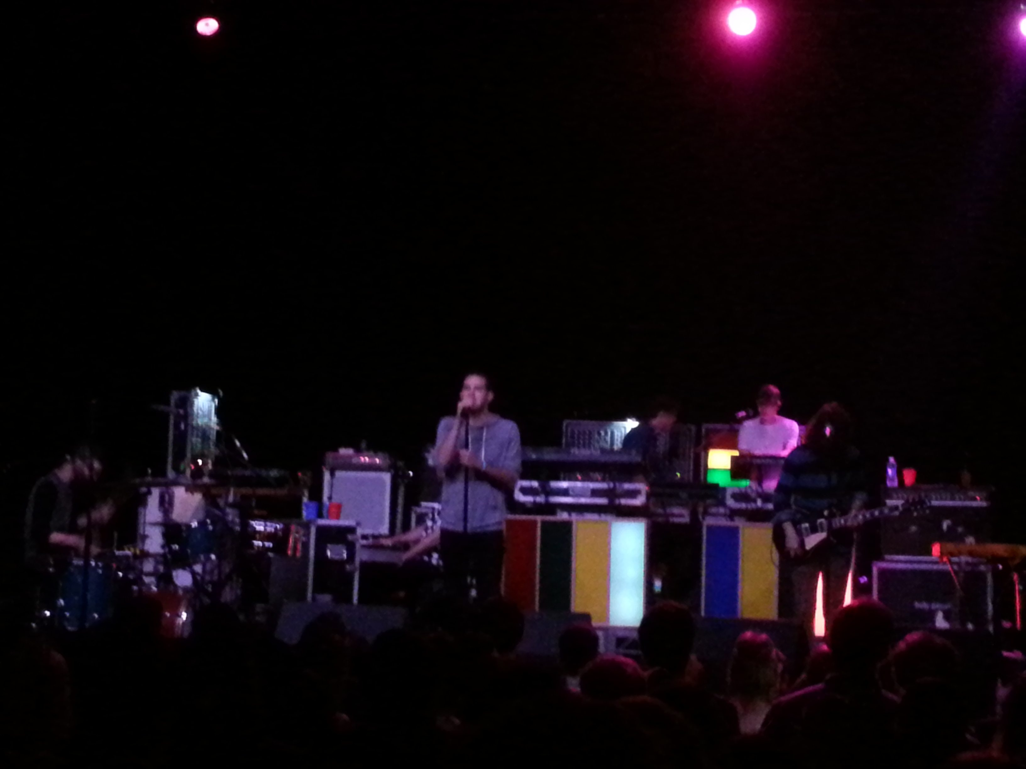 Review: Holy Ghost! @ The Fonda Theater in Los Angeles on 10