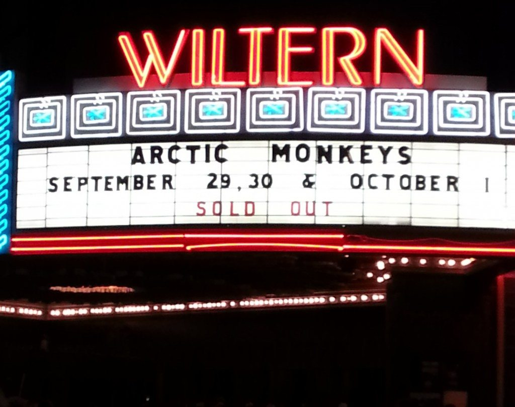 arctic monkeys wiltern 2013