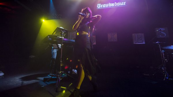 Foxes at Troubadour in LA via B3SCI by Russ Ramos  11.19.13 1