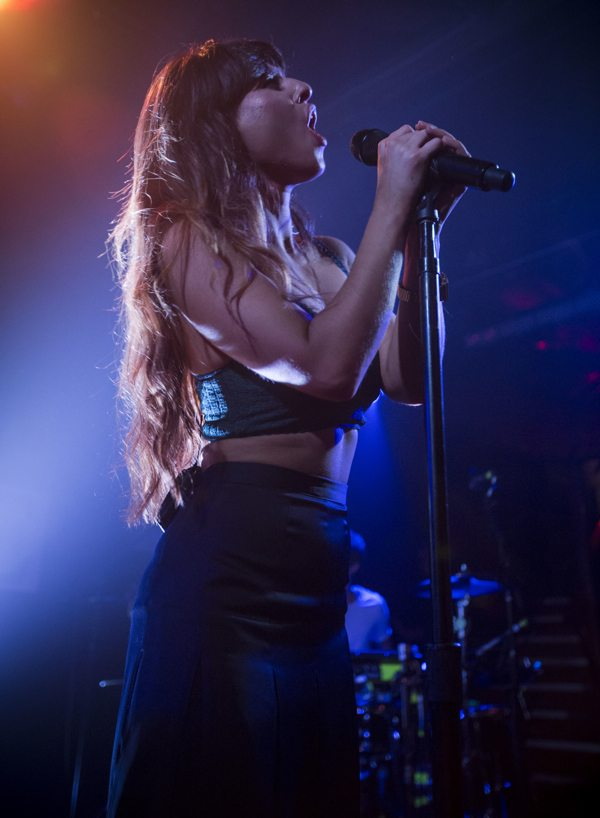 Foxes at Troubadour in LA via B3SCI by Russ Ramos  11.19.13 3