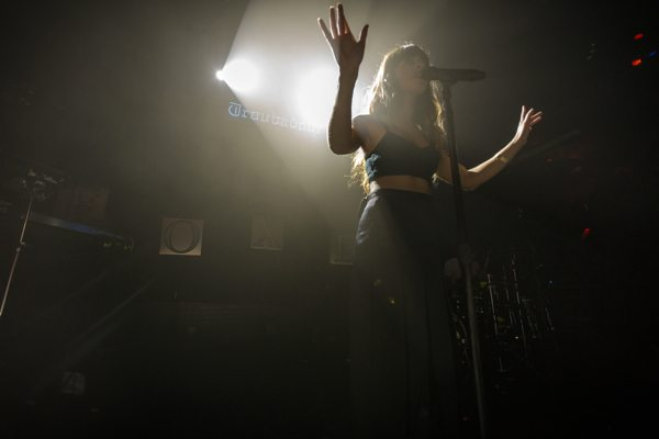 Foxes at Troubadour in LA via B3SCI by Russ Ramos  11.19.13 6