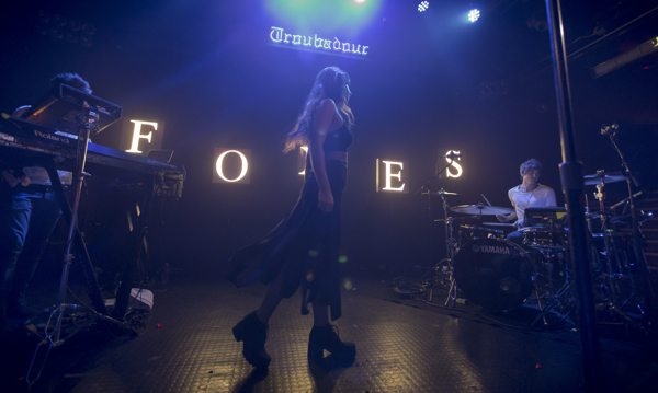 Foxes at Troubadour in LA via B3SCI by Russ Ramos  11.19.13 7