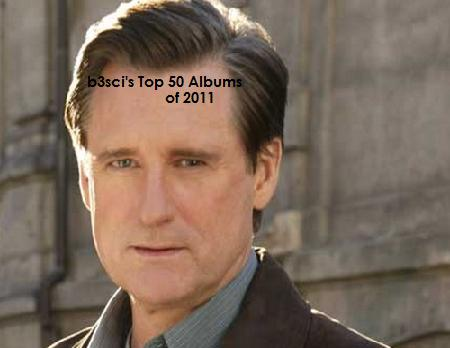 B3SCI TOP 50 ALBUMS OF 2011