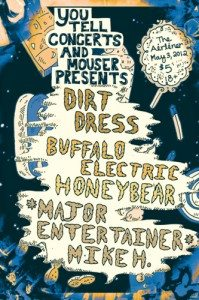 dirt-dress-buffalo-electric-honeybear-major-entertainer-mike-h