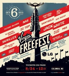 Virgin Mobile Freefest 2012