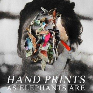 as elephants are handprints