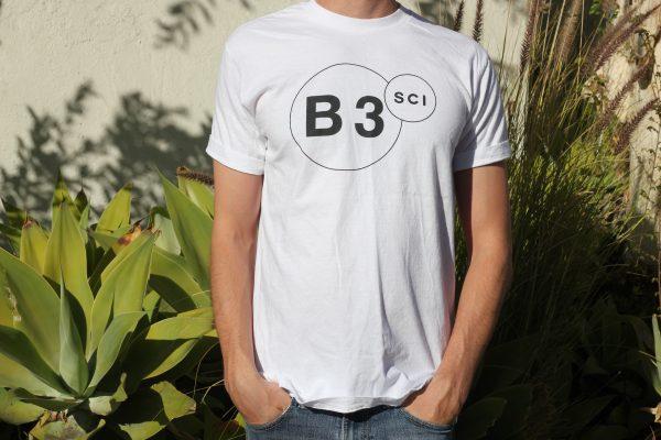 B3SCI white t-shirt2