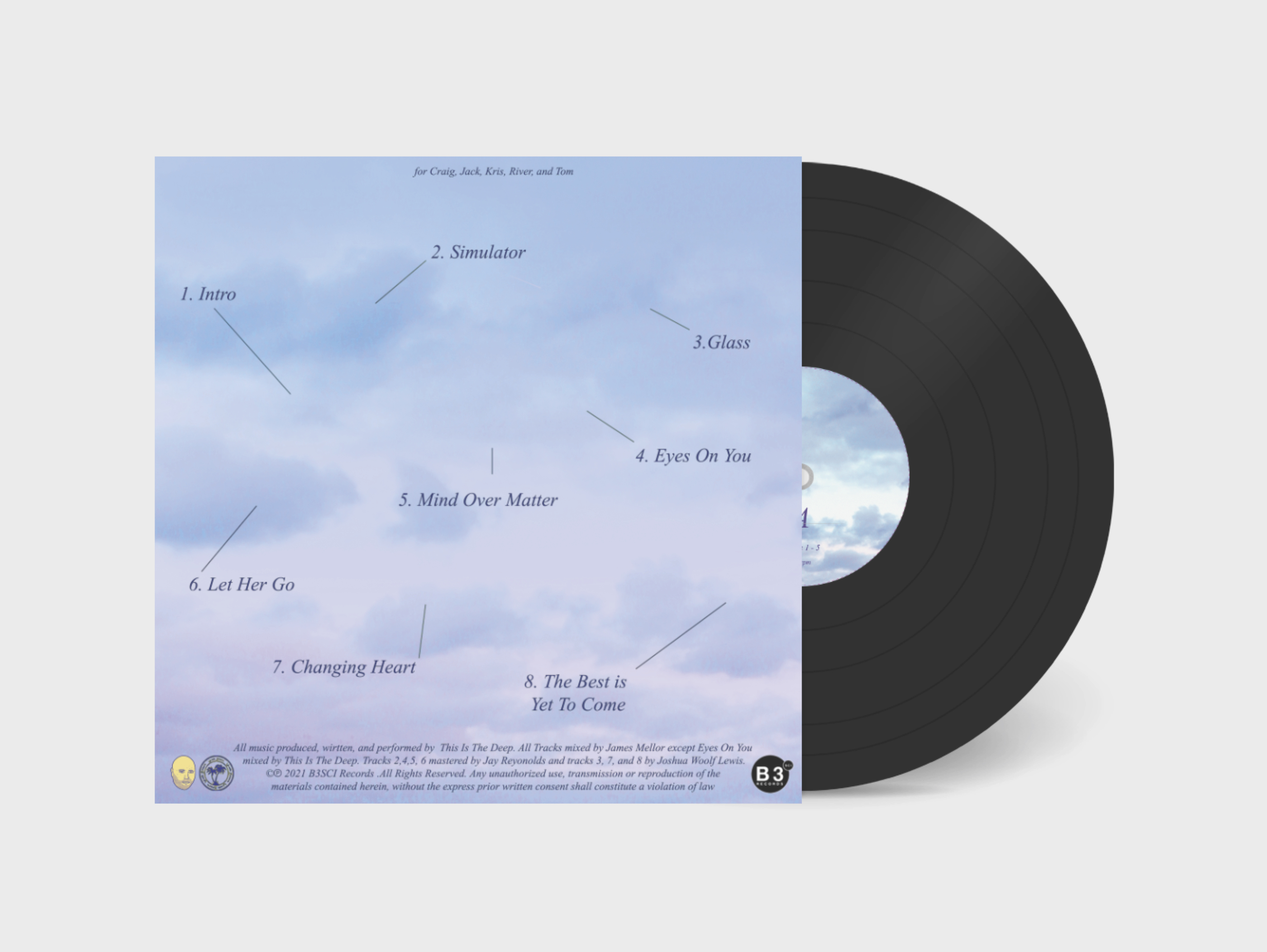 This Is The Deep - Vinyl Back
